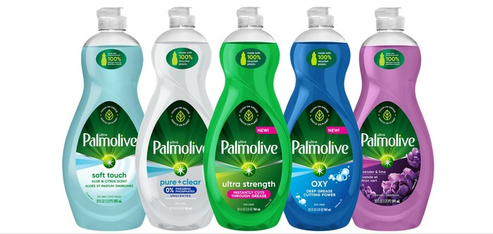 Palmolive Ultra Re-Launches Dish Soap in 100% Post-Consumer Recycled Plastic Bottles