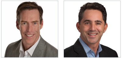 Payactiv SVP of Marketing Peter Mullen (left), and Chief Revenue Officer David Tate (right).