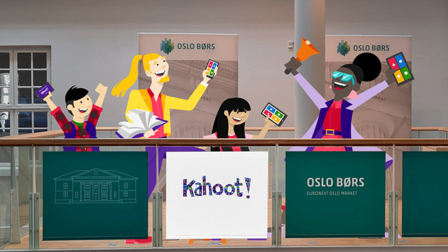 Kahoot! starts trading on the Oslo Stock Exchange main list today, another milestone for the company making learning awesome