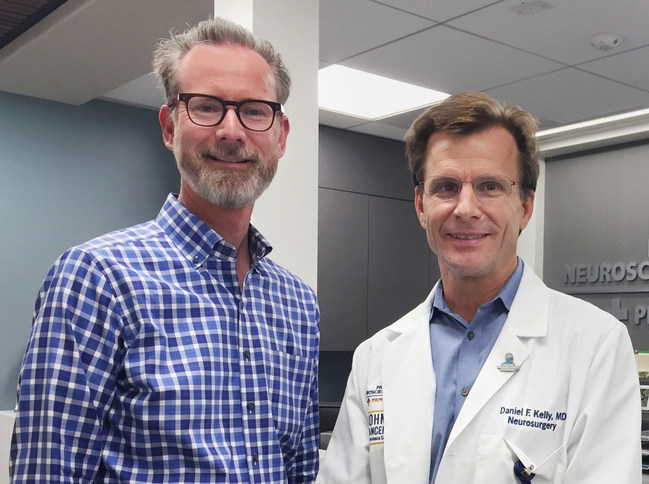 Visual Healing® Study Trial Investigators Dr. Keith Heinzerling and Dr. Daniel F. Kelly