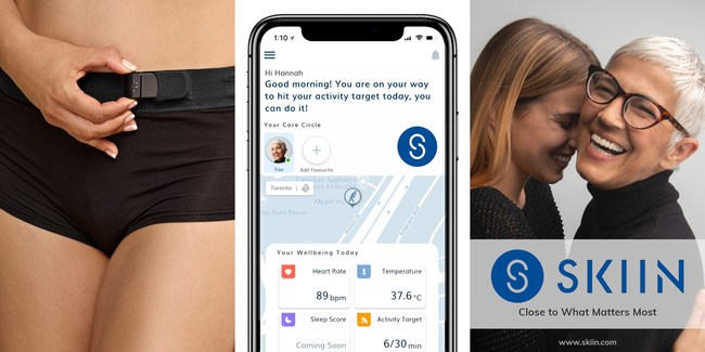 Garment + App = Connected to Care