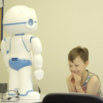 QTrobot makes autism training more effective by increasing children's engagement, attention and collaboration