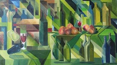 Lio Faridani's Original Masterpiece on Sale which Includes NFT (CNW Group/ContemporaryArts.ca)