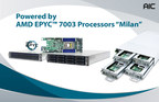 AIC Offers AMD EPYC? 7003 Processor-Based Server Boards and HCI Server Systems