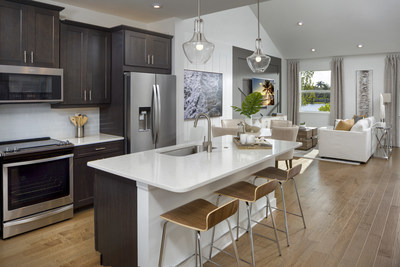 The Sandbar model at the Mattamy Homes Arboretum community was selected for the Overall Excellence Award in Construction and Design at the 2021 Naples Parade of Homes. (CNW Group/Mattamy Homes Limited)