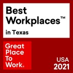 Venterra Realty Ranked #1 On The 2021 Best Workplaces in Texas...