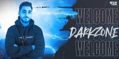 Rix.GG welcomes Darkzone as newest influential content creator