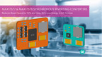 Maxim Integrated Synchronous DC-DC Inverting Converters Reduce Component Count by Half for Industrial Automation and Signal Conditioning Solutions