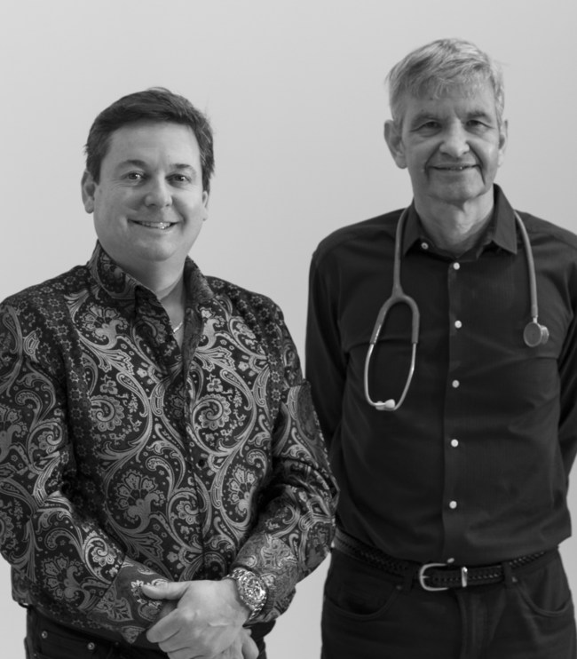 Banty Founders Scott Wilson and Doctor Richard Tytus