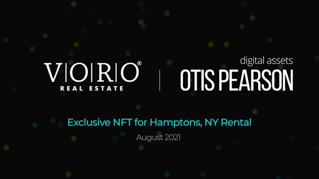 VORO Real Estate in collaboration with Otis Pearson, has established the very first Exclusive NFT to rent an entire house in the Hamptons, NY. The newly renovated, posh property is available to rent for the entire month of August 2021.