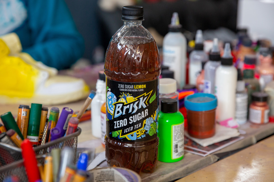 Brisk Releases New Zero Sugar Lemon Iced Tea