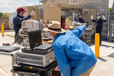 Insitu engineers worked with researchers from Washington State University and Protium to conduct successful testing of a hydrogen supply tank in July of 2020. The event marked one of the company's many recent efforts to advance fuel cell technology for unmanned platforms.