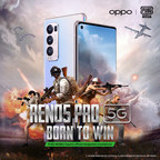 OPPO Reno5 series named the official smartphone partner of PUBG...