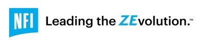 NFI Group Leading the ZEvolution™ Logo (CNW Group/NFI Group Inc.)