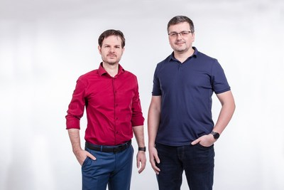 Evzen Englberth (CEO) on the left and Jan Pleskac (CTO) on the right, from Tropic Square
