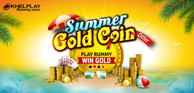 Khelplay Rummy Gold Coin Offer