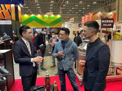 FOODEX JAPAN 2021: Japan Sake and Shochu Makers Association Booth Exhibition