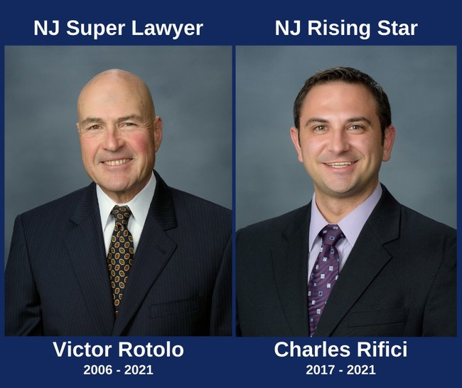 Victor A. Rotolo and Charles C. Rifici selected to 2021 NJ Super Lawyers and Rising Stars lists.