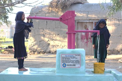 Helping Hand for Relief and Development Promotes One Day Water Challenge