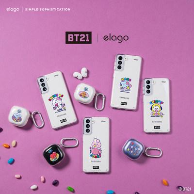 BT21   elago Collection
