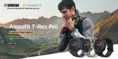 Amazfit T-Rex Pro: um smartwatch robusto de classe militar