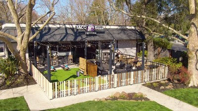 Taco Bell and franchisee Diversified Restaurant Group opened the brand's first drive-thru Cantina in Danville, California, earlier this year.