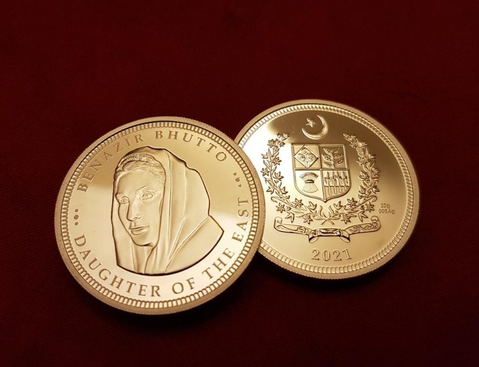 Standard Numismatic's Benazir Bhutto Commemorative Coin Prices Soar, Proving Concept For the Rise of Alternative Investments