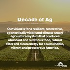 More than 30 Companies, Boards and NGOs Join Farmers and Ranchers to Endorse a Shared Vision for Sustainable Food Systems