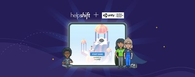 Helpshift is now a Unity Verified Solutions Partner. (PRNewsfoto/Helpshift)