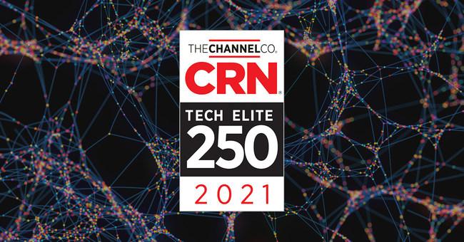 CRN Tech Elite 250 2021 Logo