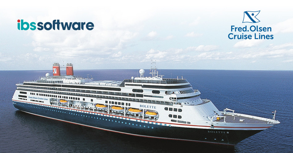 IBS Software to Improve Onboard Dining and Retail Experience at Fred. Olsen Cruise Lines