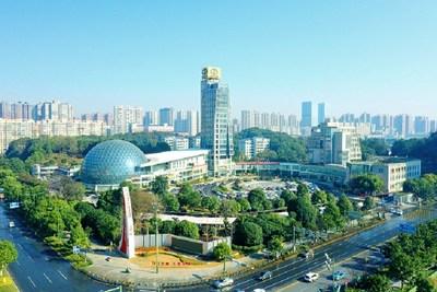 La fotografía muestra la zona de desarrollo económico y tecnológico de Changsha. (PRNewsfoto/Xinhua Silk Road)