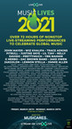 LiveXLive's Annual Global Streaming Music Festival Music Lives 2021 Adds World Renown Talent To Its Lineup; More Than 120 Artists And 72 Hours Of Non-Stop Music And The First NFT Music Festival Poster March 26-28, 2021