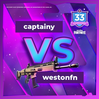 Players that will go head to head in Team33's Fortnite Tournament Grand finale
