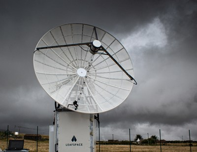 Leaf Space's ground station antenna in the Azores. Leaf Space is a leading provider of ground station as-a-service (GSaaS) solutions and has announced the company's expansion to the U.S.