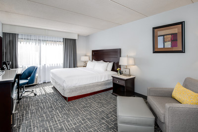 The Crowne Plaza Milwaukee South, which recently renovated all guest rooms, exterior and public spaces, has seen guest satisfaction scores and share of revenue increase substantially.