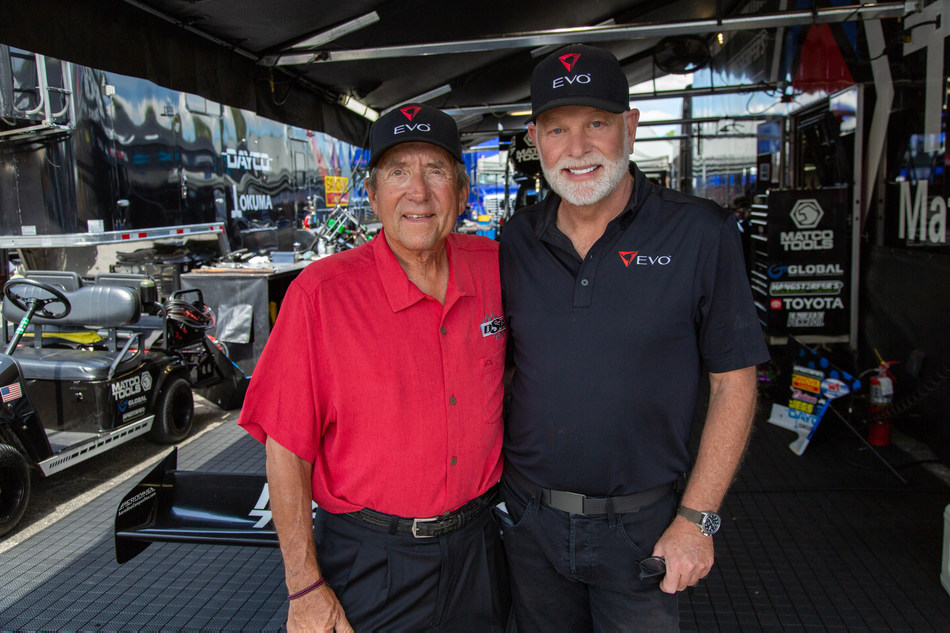 Team Owner Don Schumacher and EVO CEO John Norman