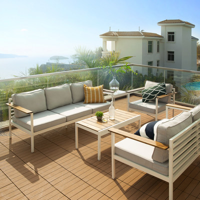 Zinus Introduces New, Affordable Outdoor Furniture Collection in time for Spring