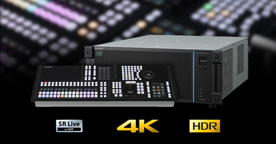 Sony's New 4K Live Production Switcher, XVS-G1 - Combining Accessibility with Versatility