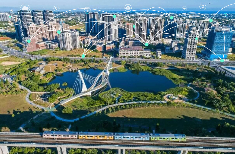 Pic. Taoyuan actively develops innovative infrastructure and technologies, winning 2019 Intelligent Community of the Year by ICF and joining as the co-organizer of 2021 Smart City Summit and Expo.