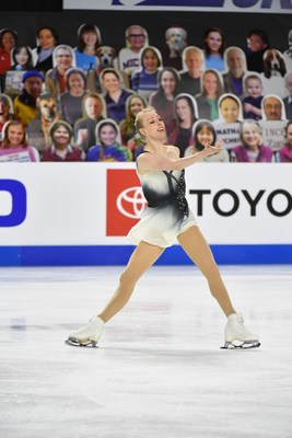 The Vitamin Shoppe has signed a multi-year sponsorship with U.S. Figure Skating Champion Bradie Tennell.