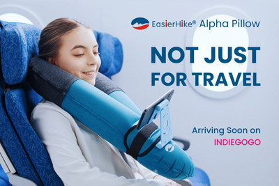 Pre-launch campaign of EasierHike Alpha Pillow is now available on Indiegogo with Super Early Bird discount provided.