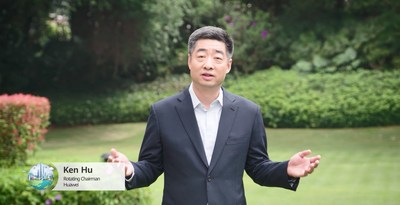 Sr. Ken Hu, presidente rotativo da Huawei. (PRNewsfoto/Huawei)