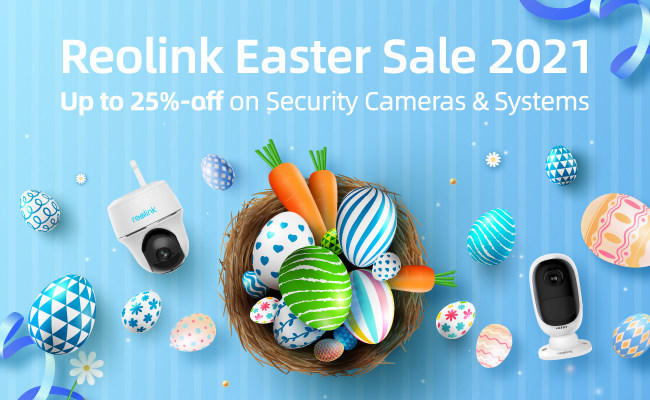 Reolink is offering great security camera and system deals with up to 25% discounts.