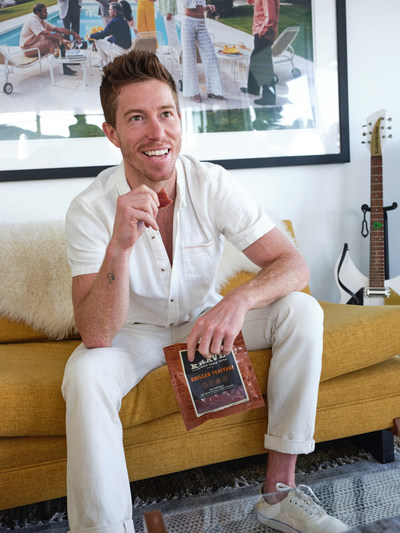 KRAVE announces highly decorated action sports icon and beloved athlete, Shaun White, is the latest addition to the team, ahead of an upcoming brand refresh and exciting new product announcements