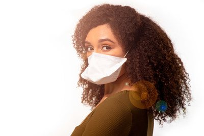 ivWatch's blox face mask collection launches with blox98, a high-filtration mask that blocks out ≥98% of 0.1 micron aerosolized saline particles.