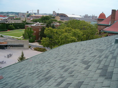 Roofs on more than 280 buildings at the University of Minnesota Twin Cities campus are maintained by Central Roofing Company out of Minneapolis. The commercial roofer inspects, repairs and replaces roofing through its Preventive Maintenance Inspections program. Annual roof inspections provide value and peace-of-mind to university officials.
