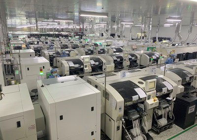 Sercomm Philippines Fully-Automated Production Line