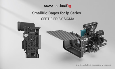 SmallRig Cages for fp Series CERTIFIED BY SIGMA