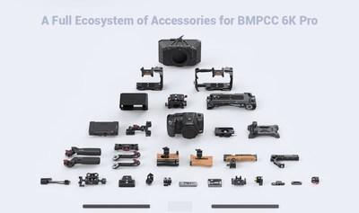 SmallRig Accessory Ecosystem for BMPCC 6K Pro